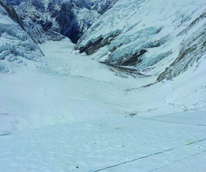 Cammino sull'Everest